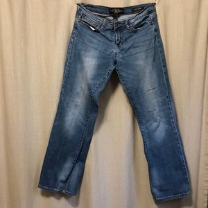 Lucky Brand Easy Rider Jeans Size 8/29 Distressed